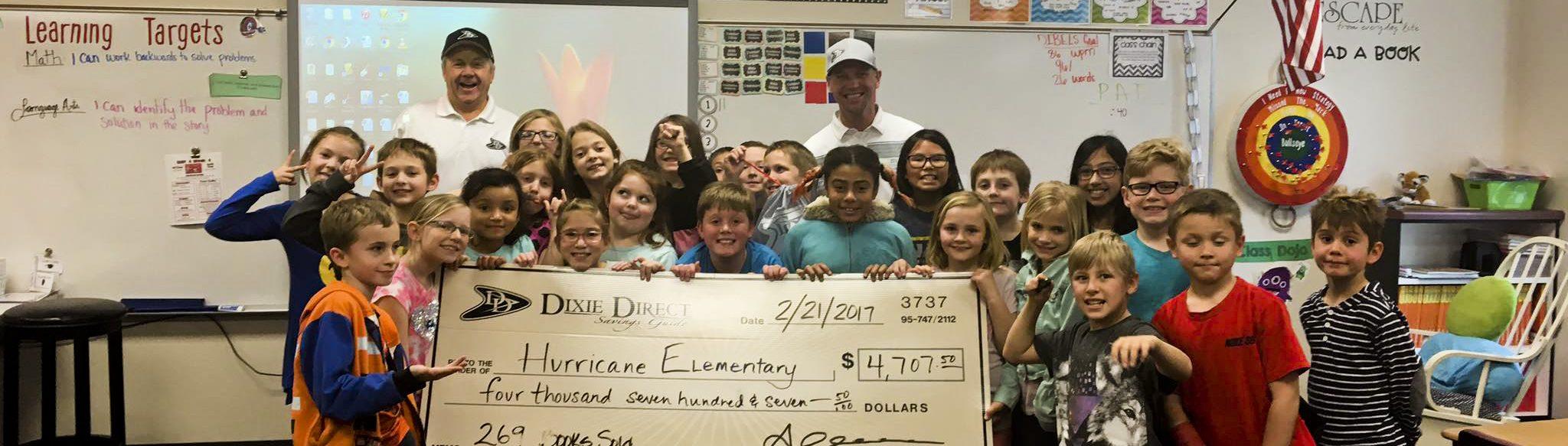 Dixie Direct Elementary School Fundraising St George Utah