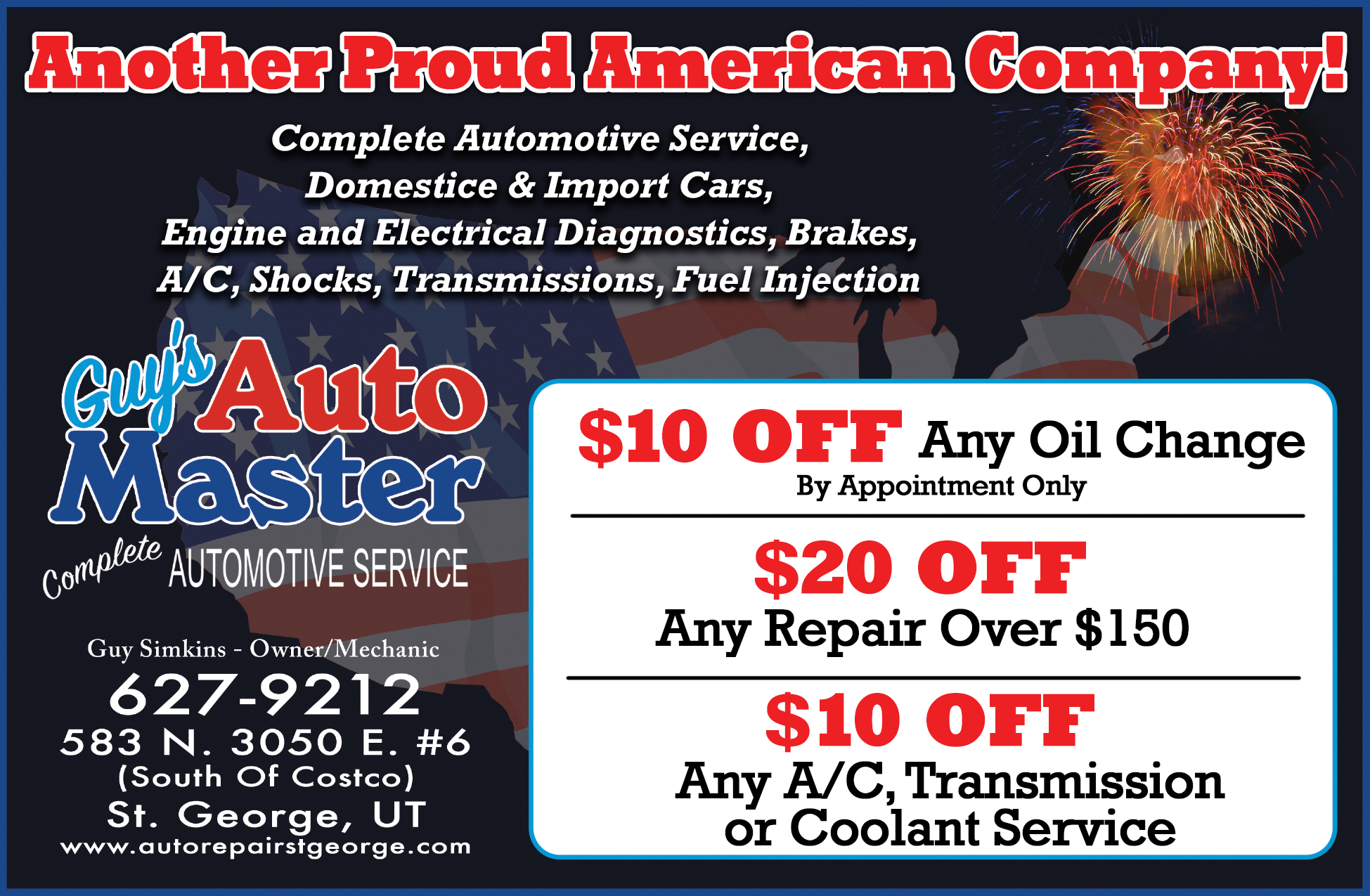 St George Auto >> Guys Auto Master Dixie Direct Savings Guide