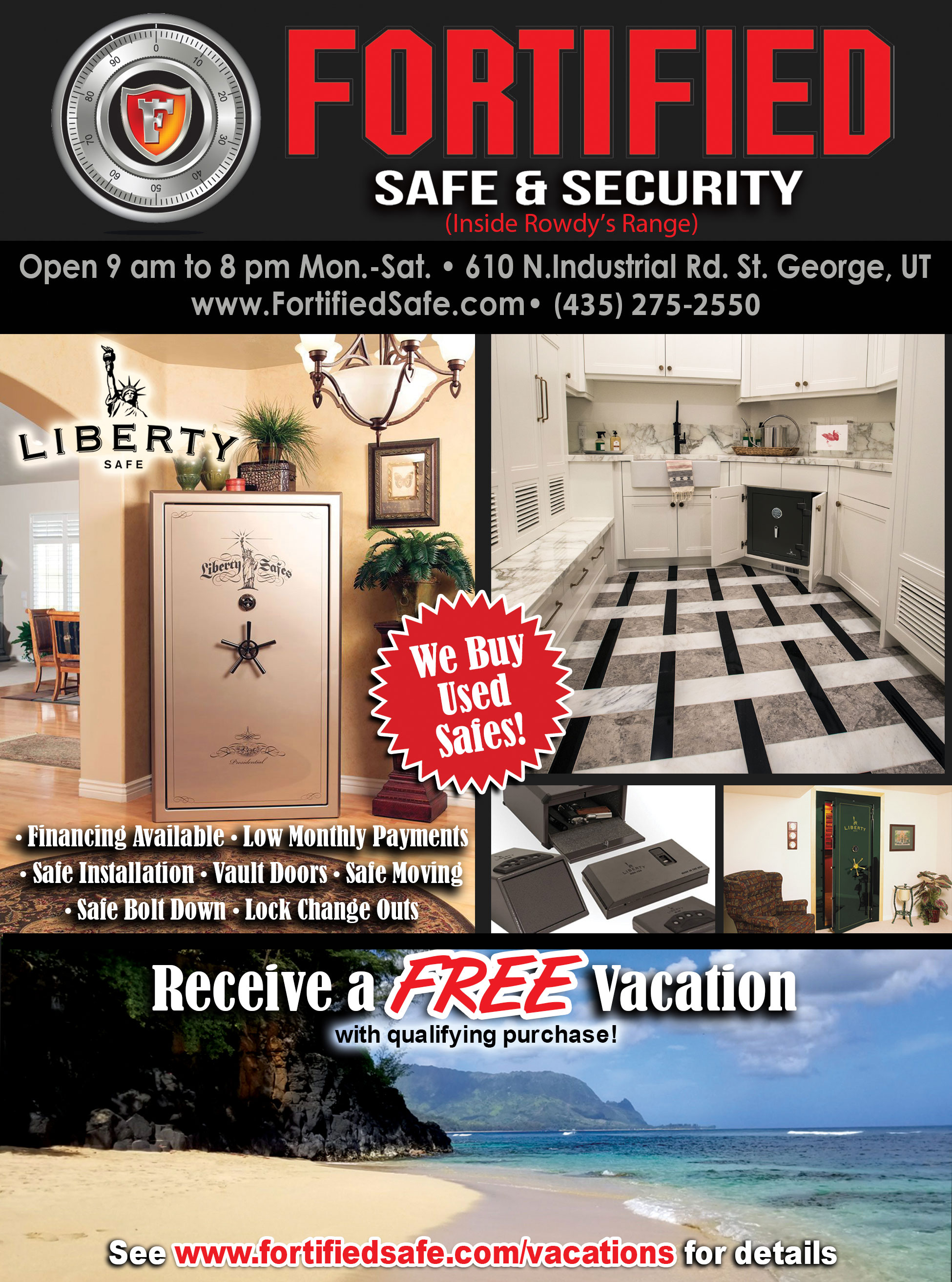 Fortified Safe and security