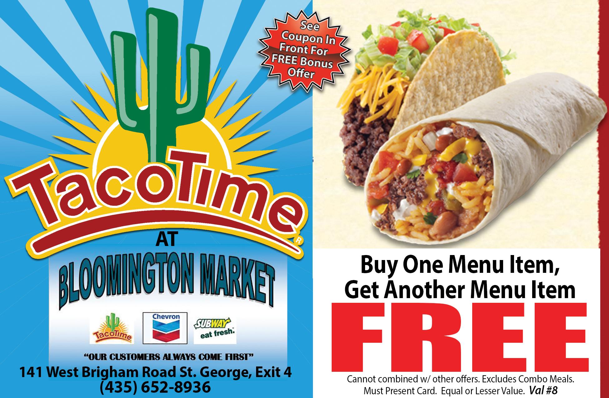 taco time coupons utah