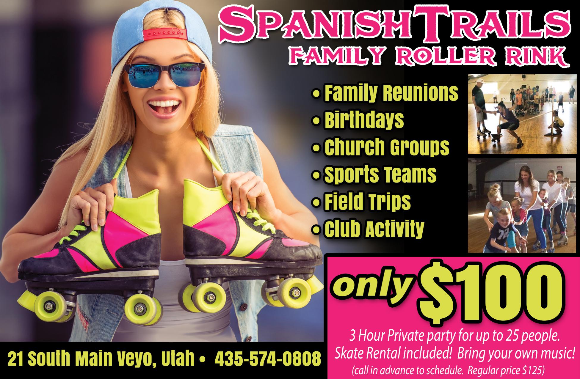 Spanish Trails Family Roller Rink - roller skating