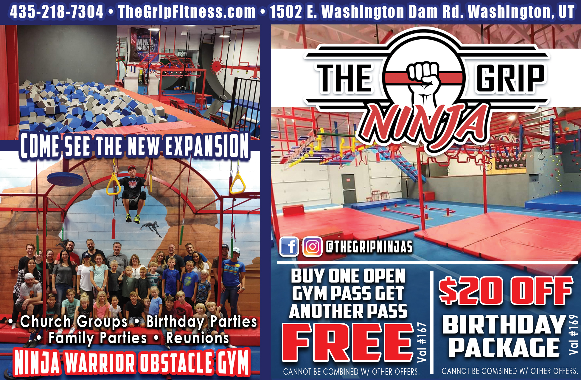 The Grip - Ninja Warrior Arena