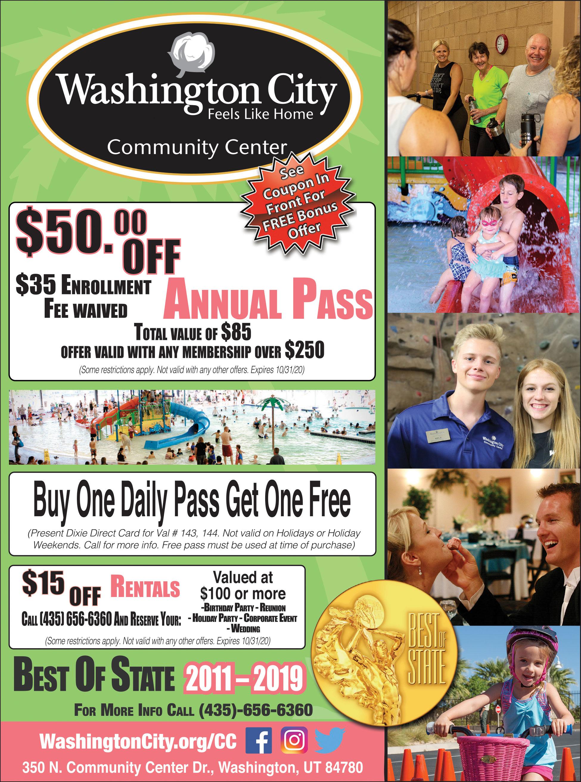 Washington City Community Center
