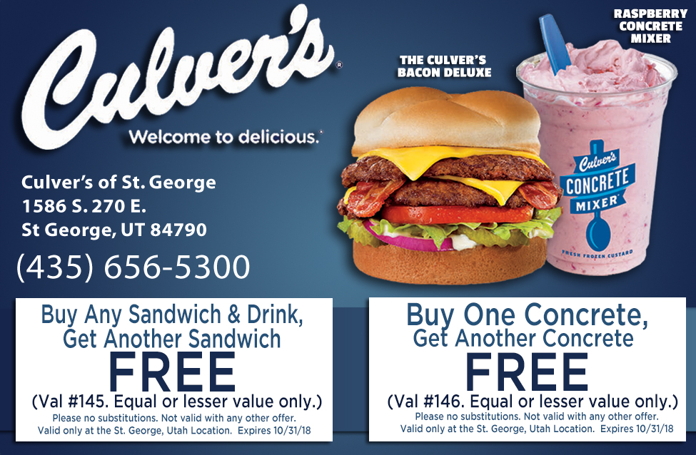 Culvers - welcome to delicious