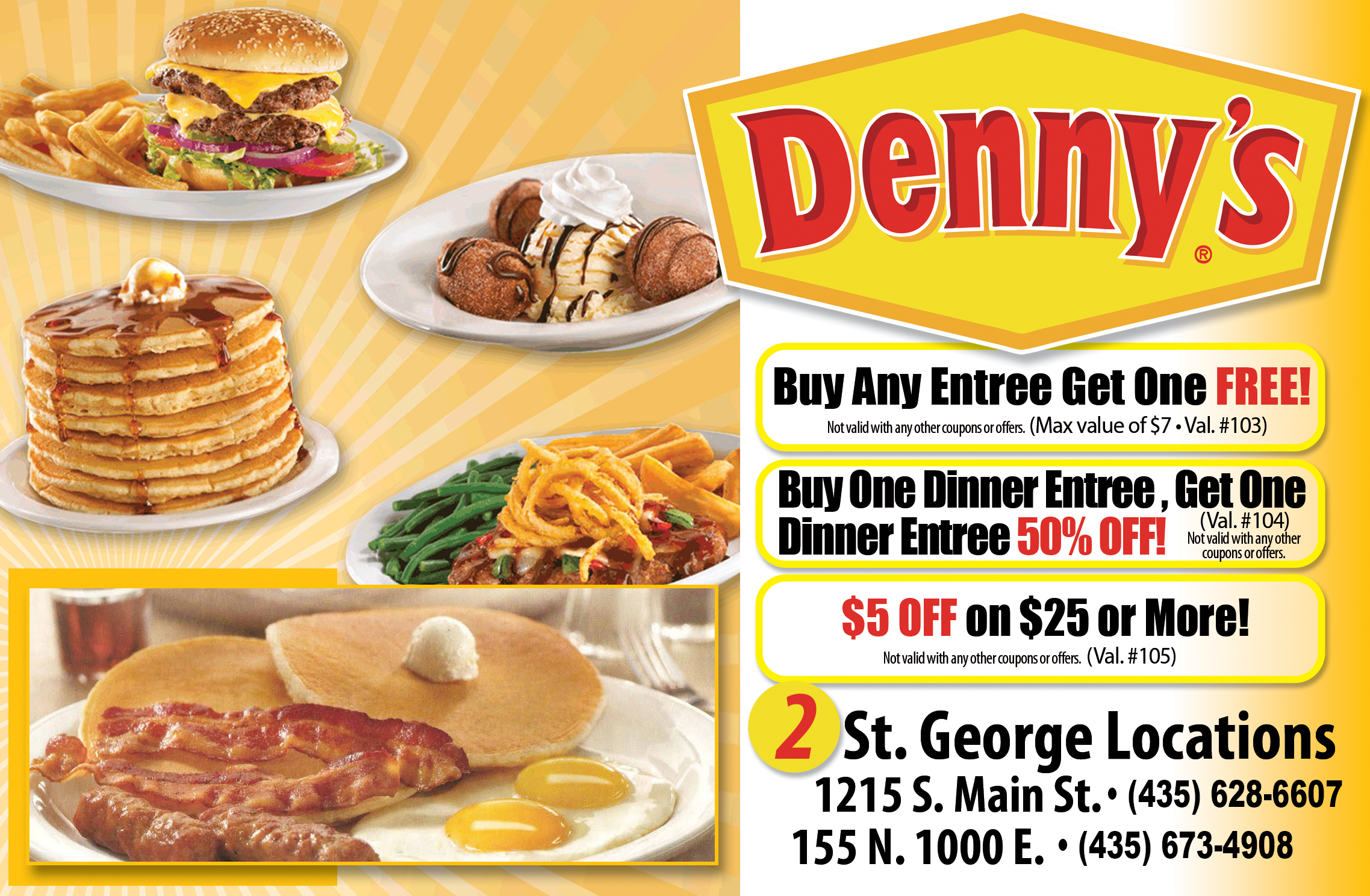 Dennys - dining all the time