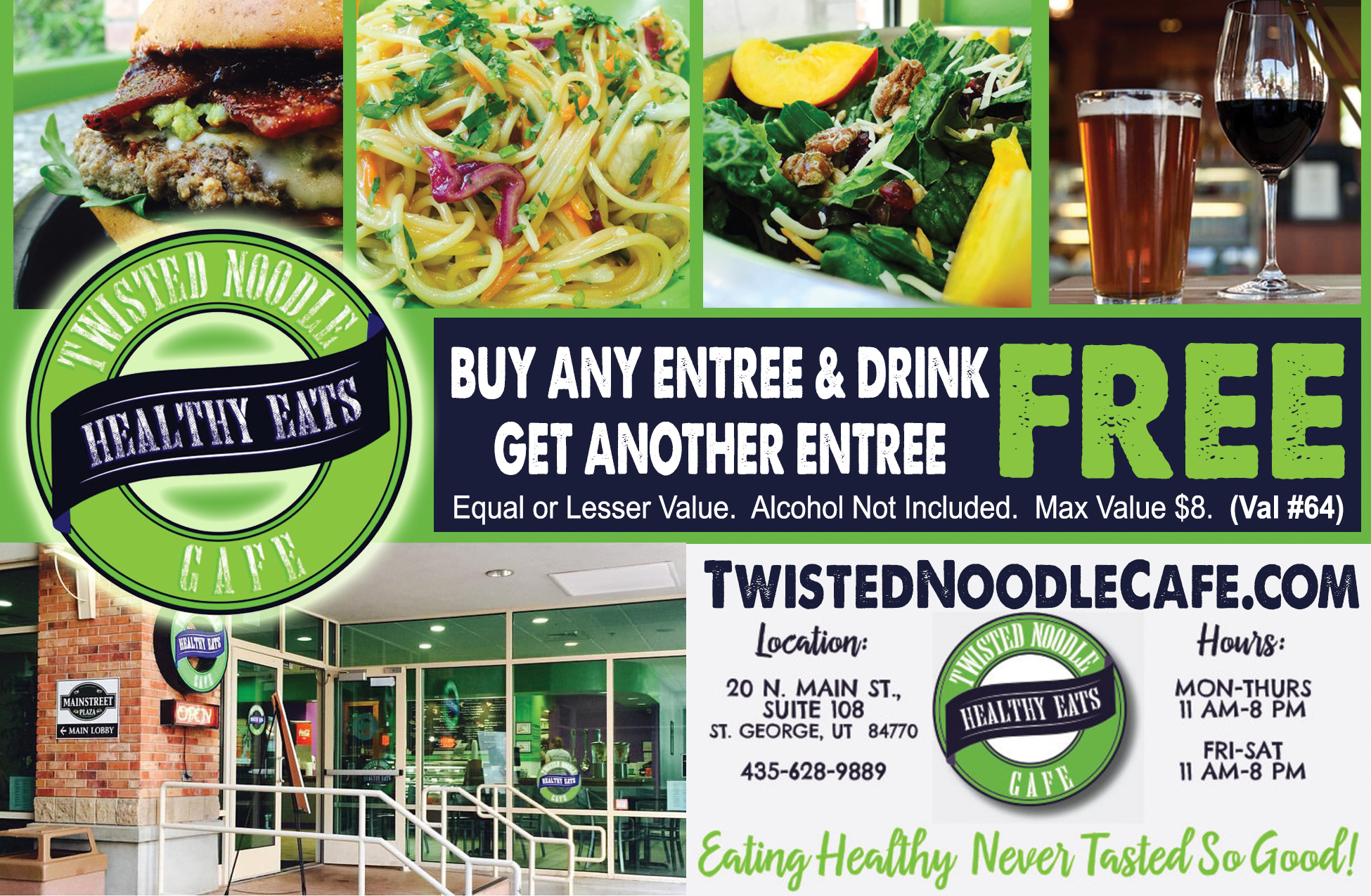 Twisted Noodle Cafe - Healthy Eats