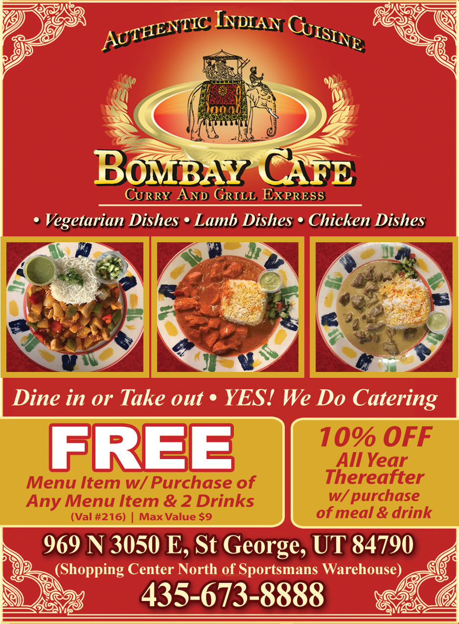 Bombay Cafe - Authentic Indian Cuisine