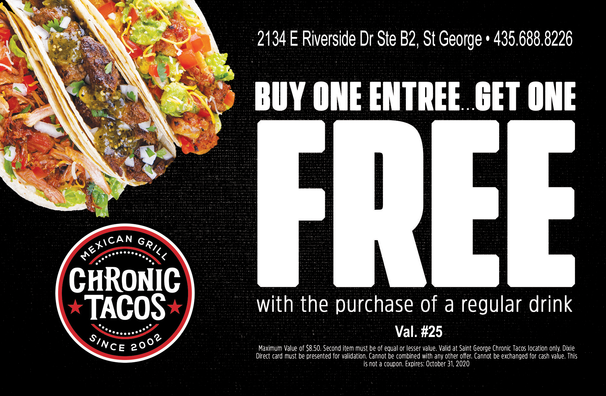 Chronic Tacos - Mexican Grill