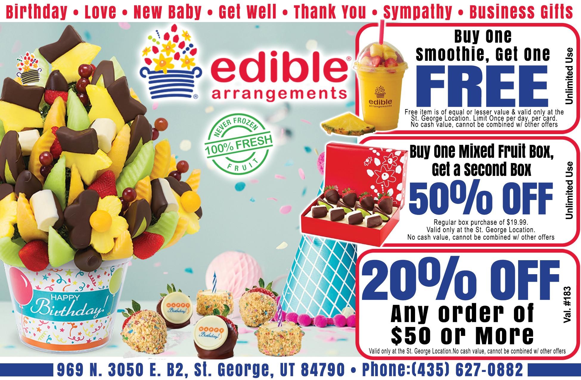 Edible arrangements - fresh fruit decor