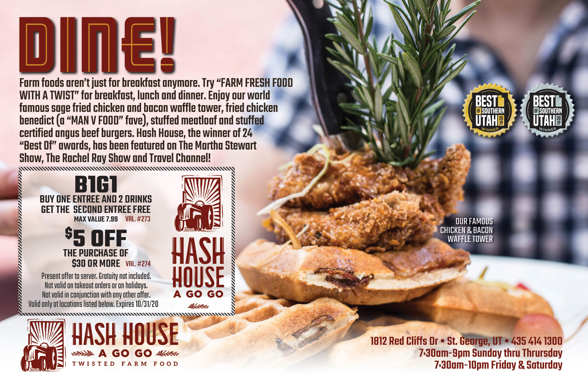 Hash House A Go Go Twisted Farm Food
