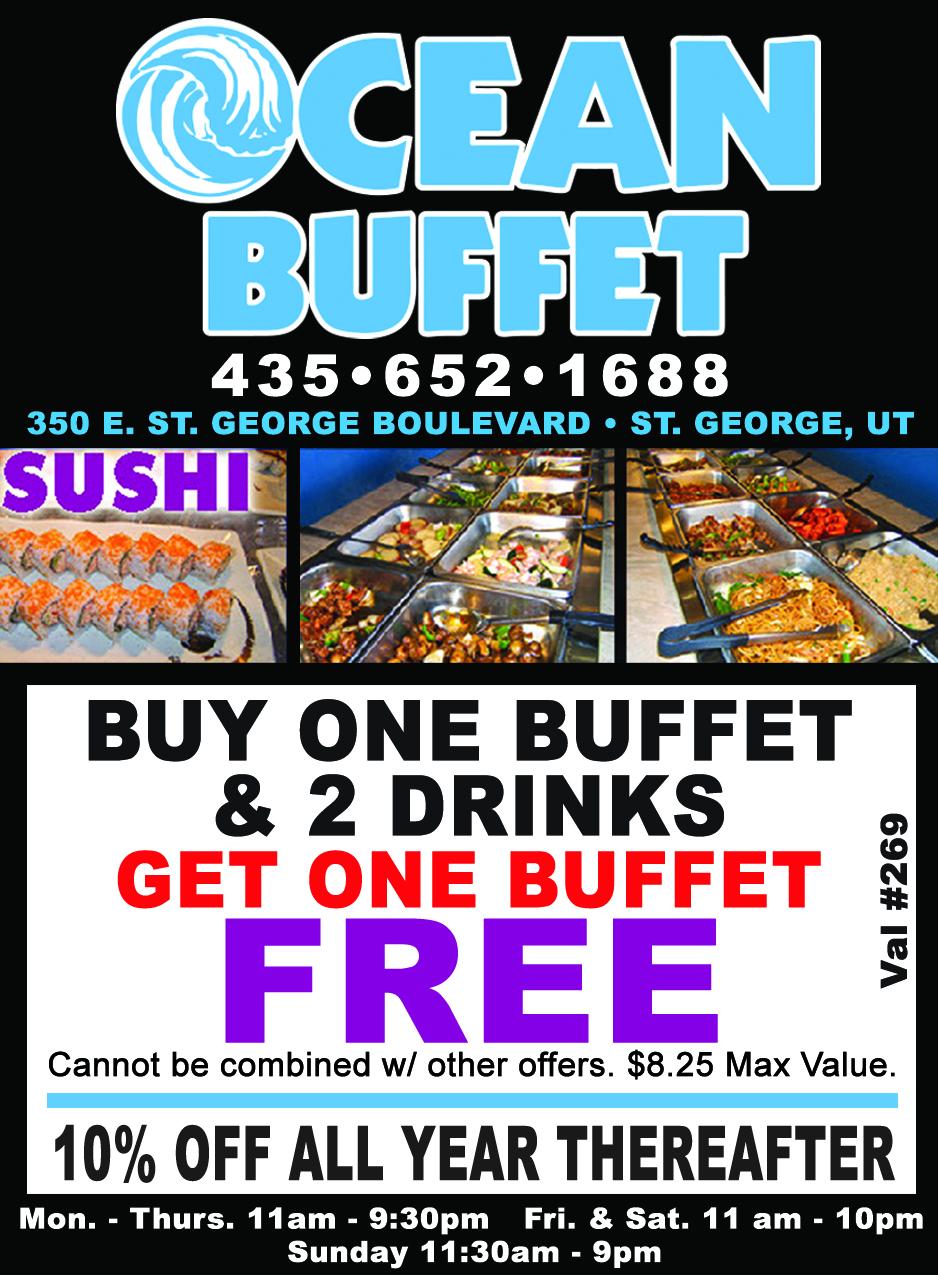 Ocean Buffet - sushi