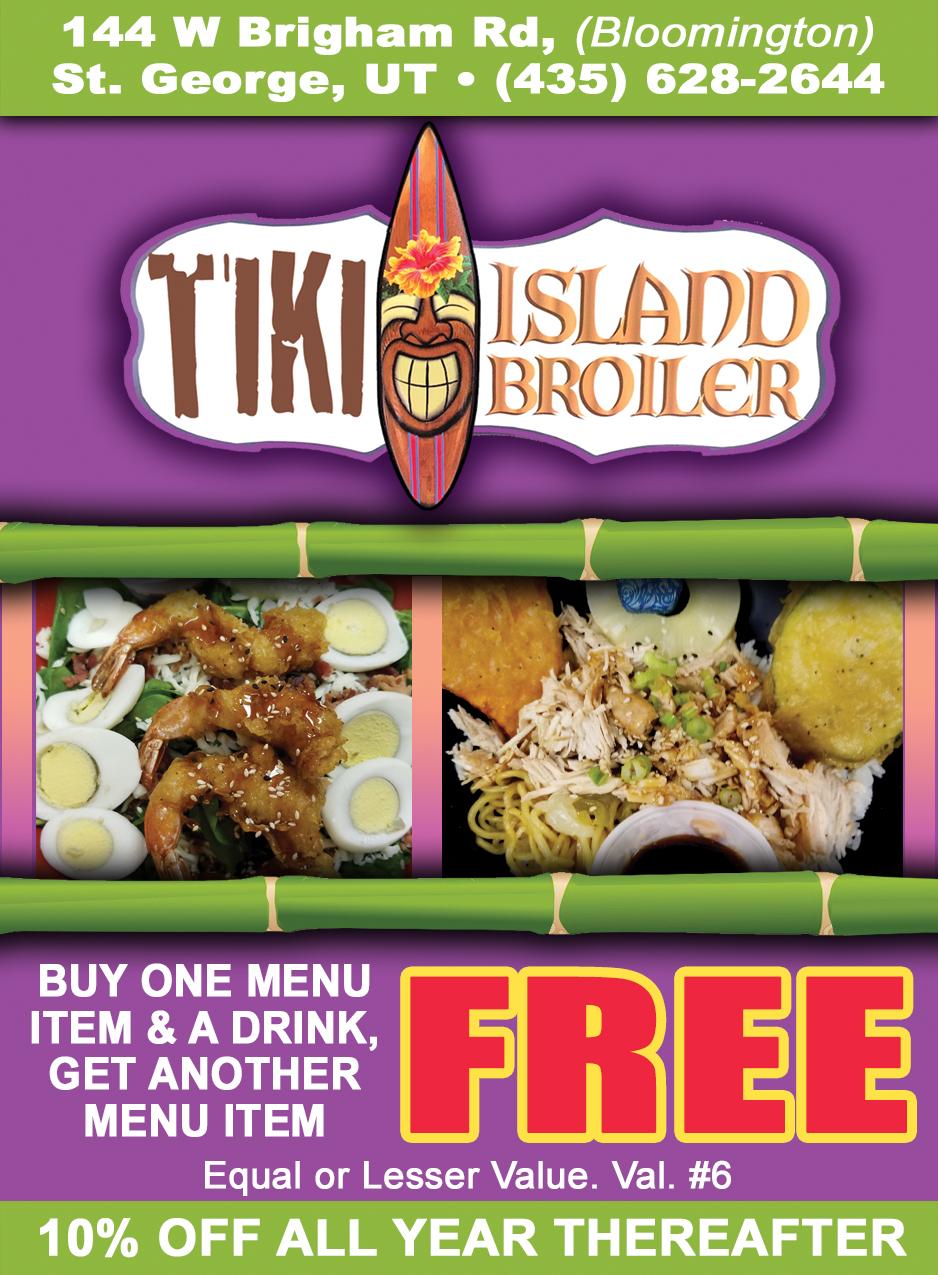 Tiki Island Broiler