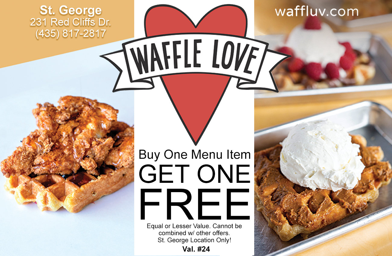 Waffle Love - sweet and savory waffles