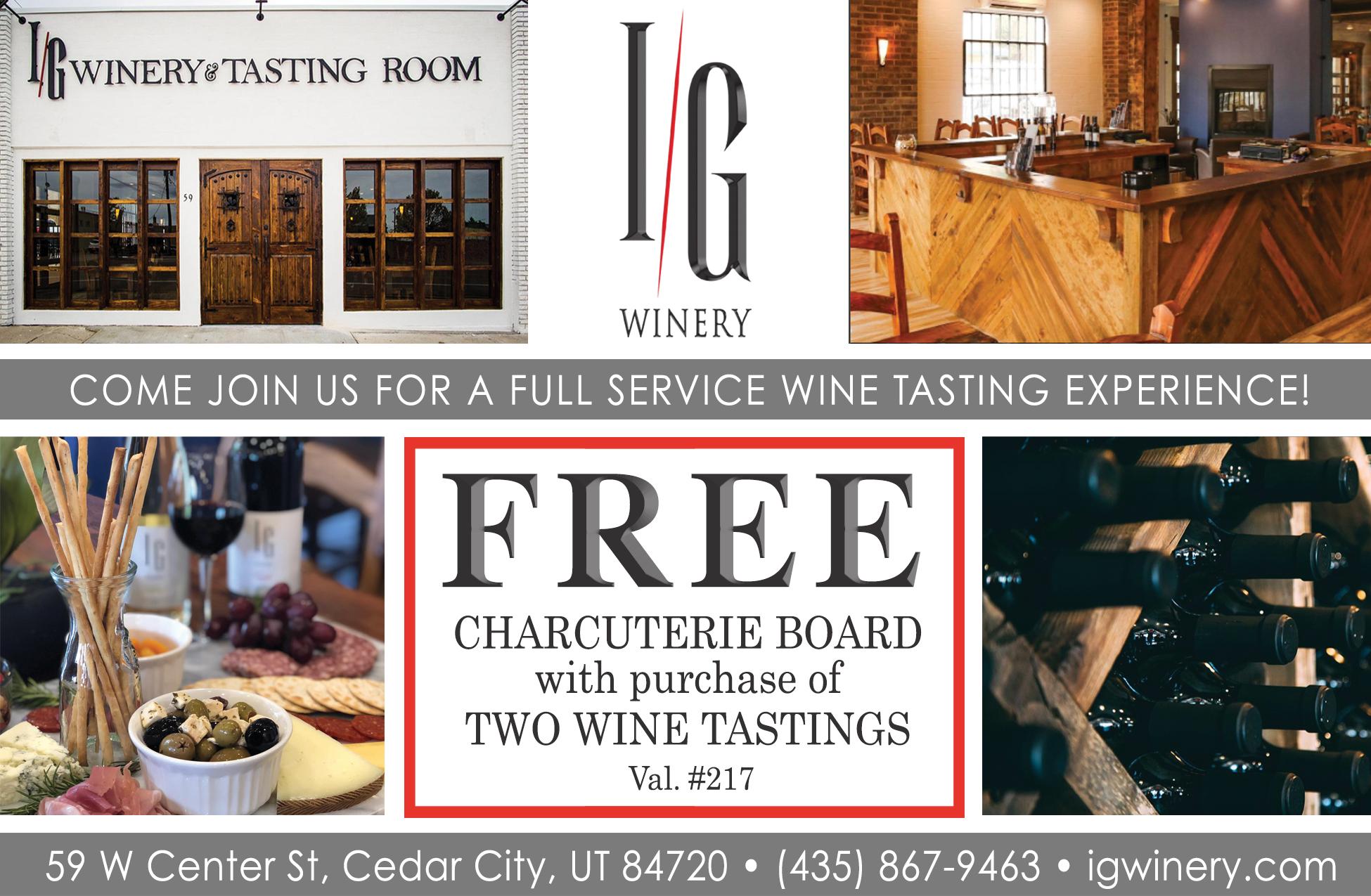 IG Winery - free wine tasting