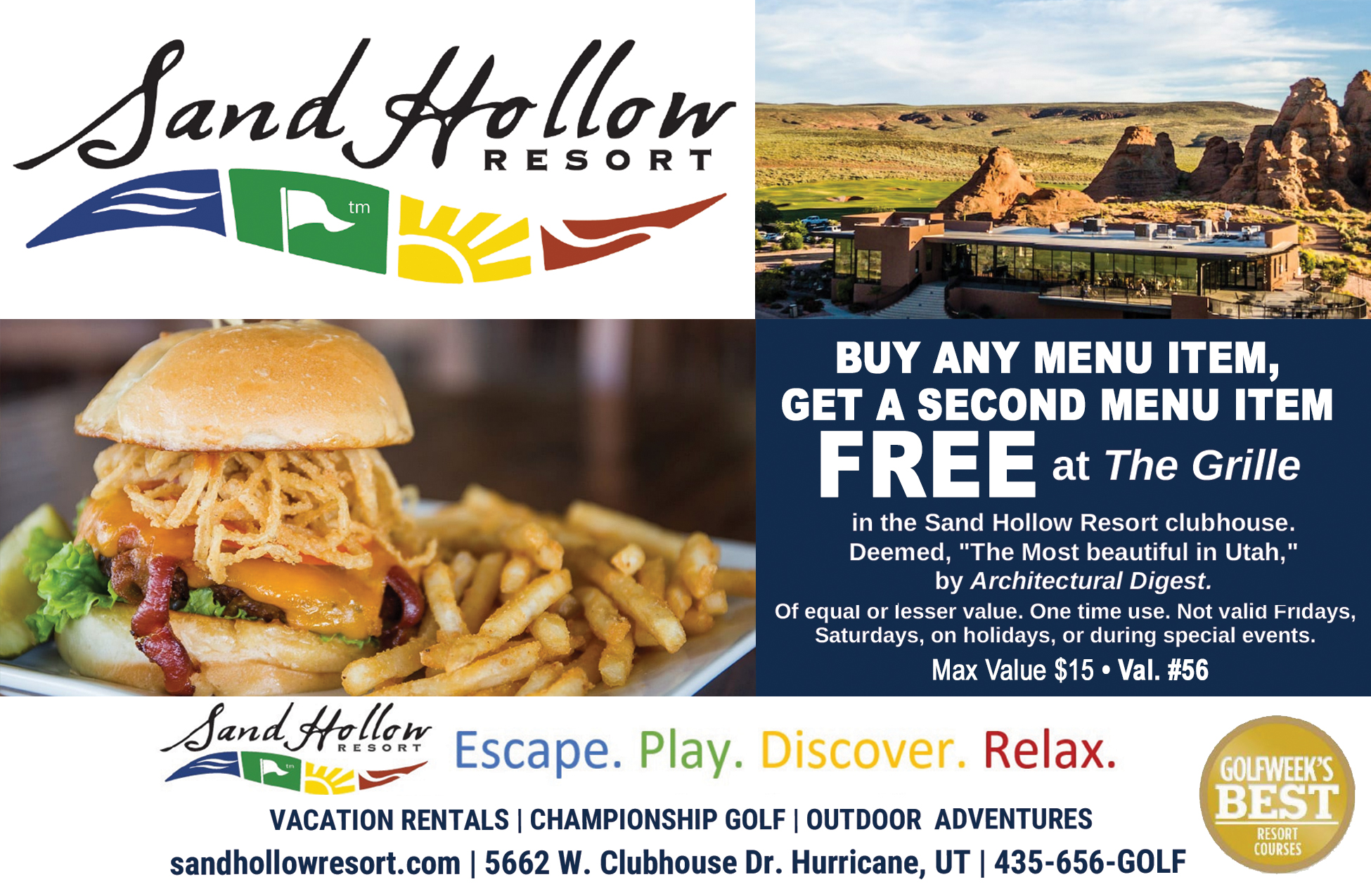 Sand Hollow Resort Grille