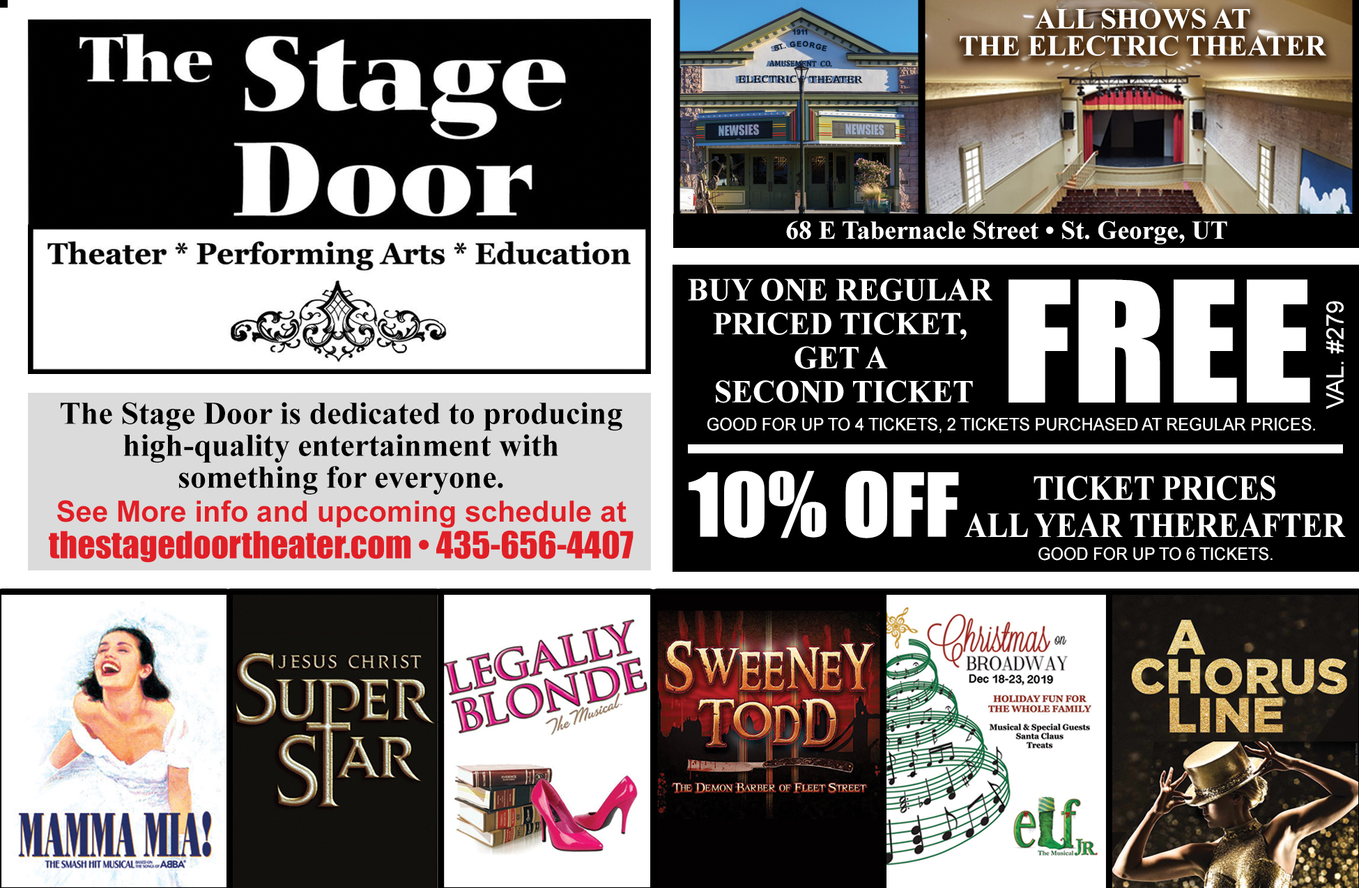 Stage Door Productions - Theater, performing arts, education