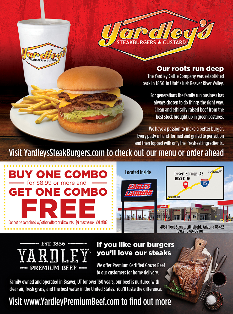 Yardley's Steakburgers and Custard
