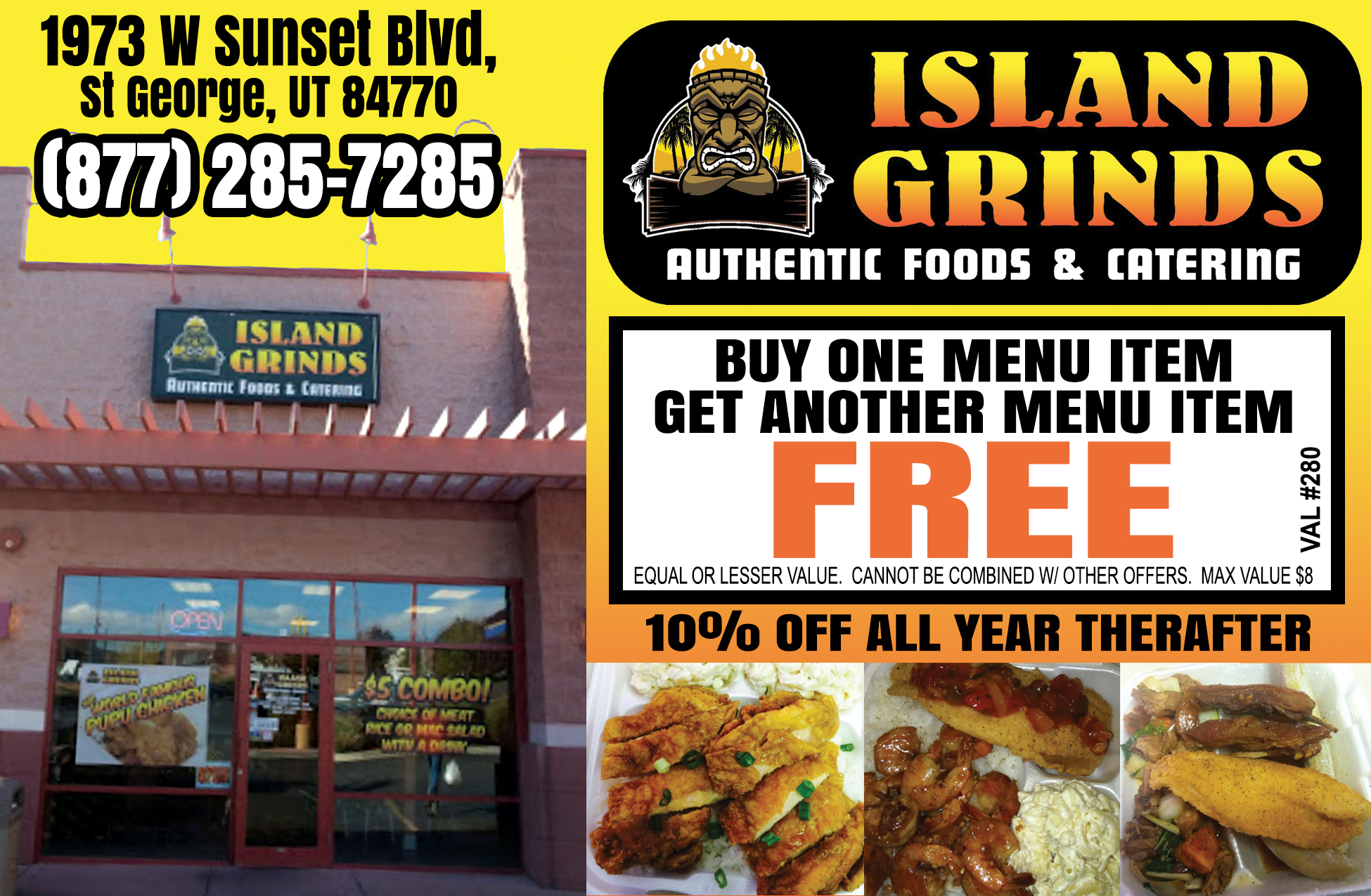 Island Grinds - authentic food and catering