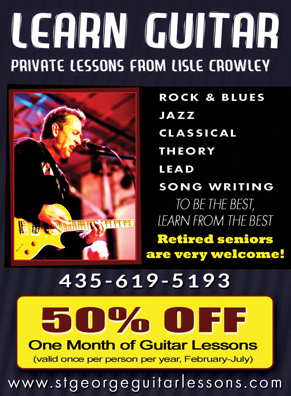Crowley Guitar - Private Lessons from Lisle Crowley