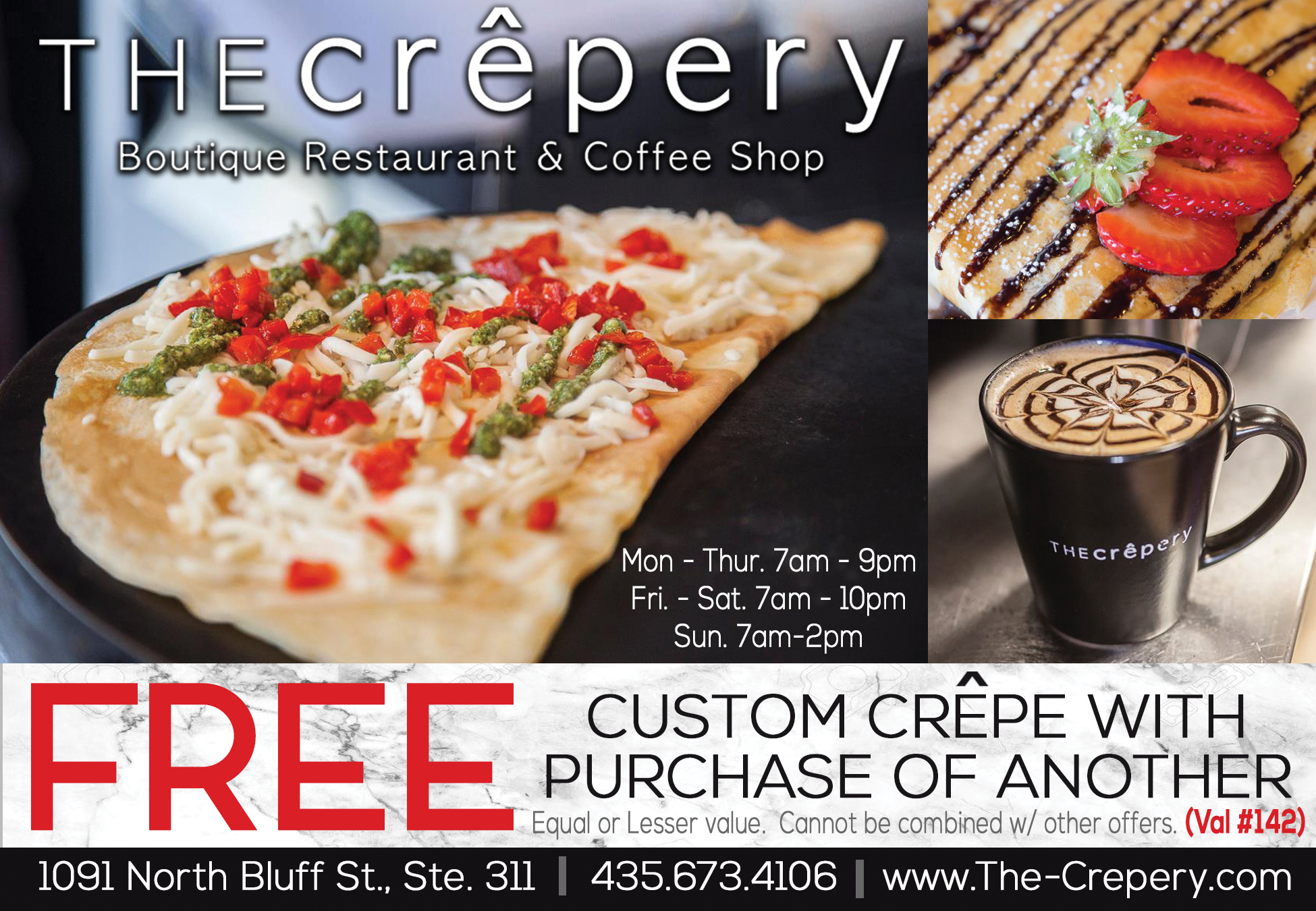 The Crepery Boutique Restaurant and Coffee Shop