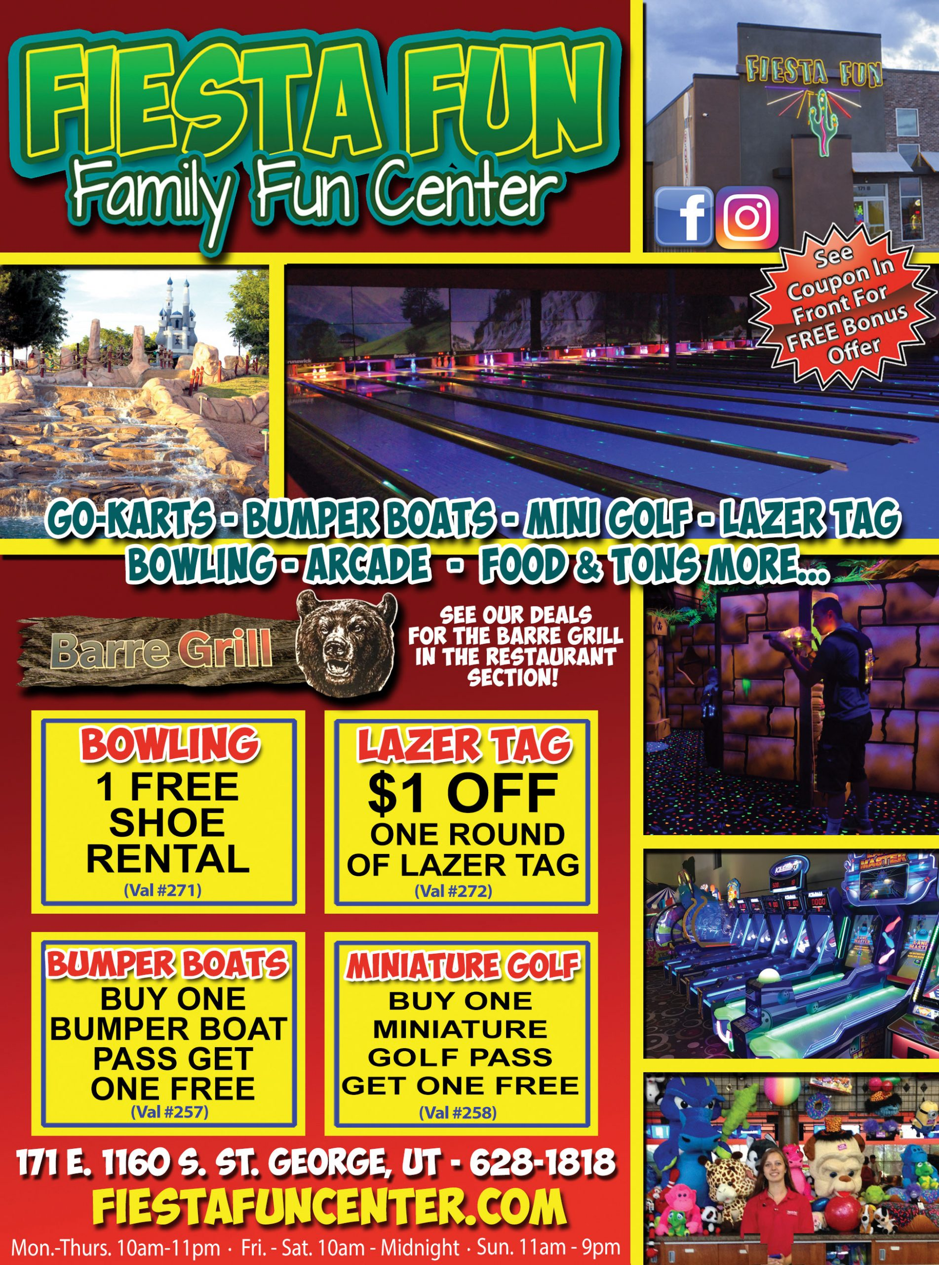 Fiesta fun Family Center